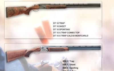تفنگ کالیبر 12 تراپ و اسکیت